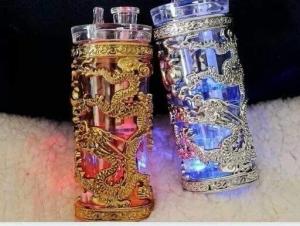 金银龙彩灯两层冰壶.