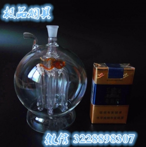 大灯泡瓶六爪鱼冰壶.